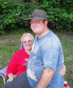 Clyde L. Snyder & mom, Bernice
