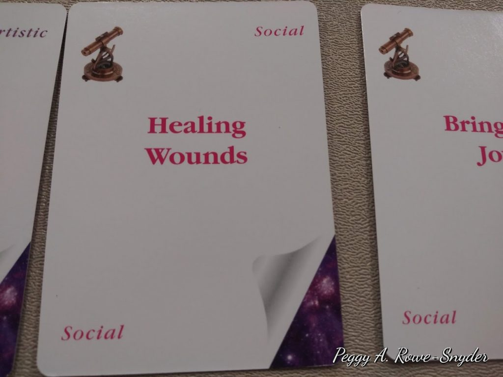 one of my goals: Healing Wounds