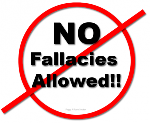 No Fallacies Allowed